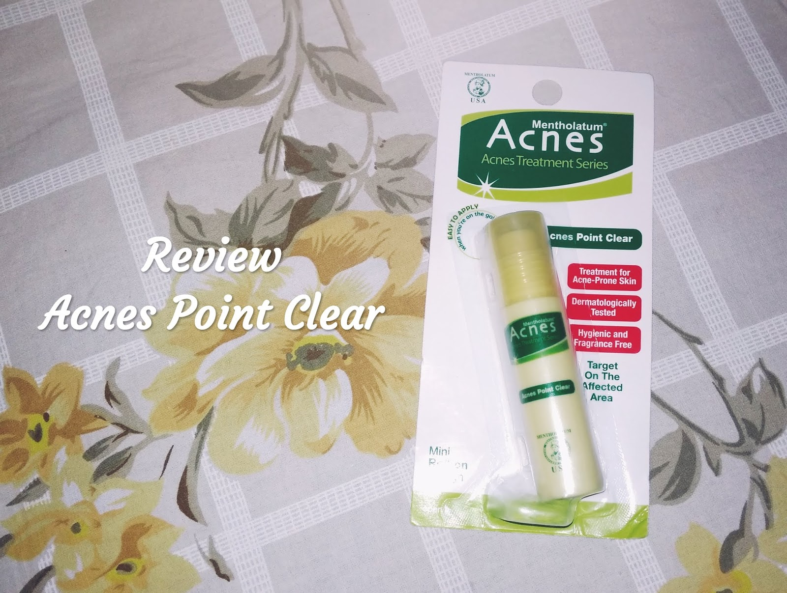 Acnes Point Clear 9ml Update Harga Terkini Dan Terlengkap Indonesia Roll On Penghilang Jerawat Cream Obat Review Treatment Series