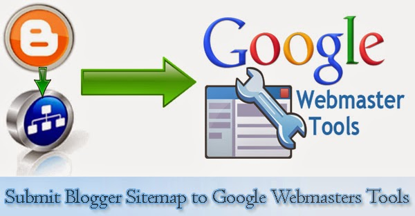 How to submit blogger sitemap to google webmasters tool