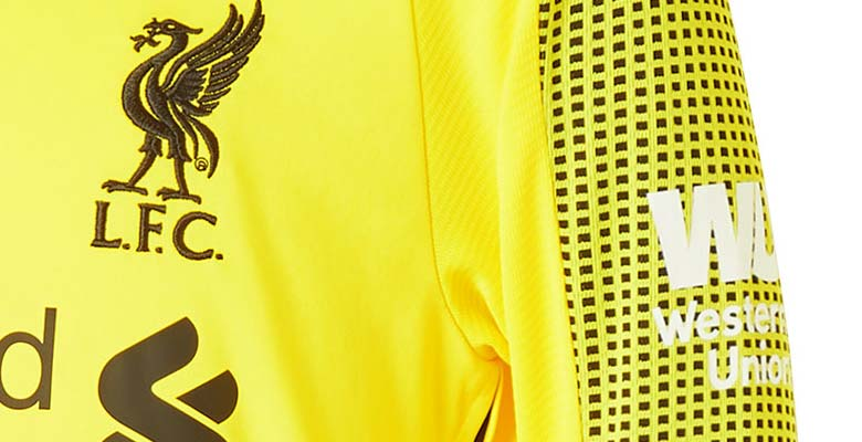The Liverpool 18-19 goalkeeper kit introduces a vibrant look in yellow and  black 52687f64d