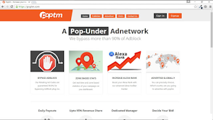 √ Poptm Review - Pop-under Indonesia Ad Network