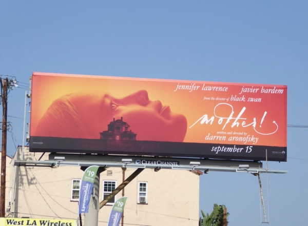 Mother movie billboard