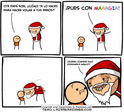 humor papa noel