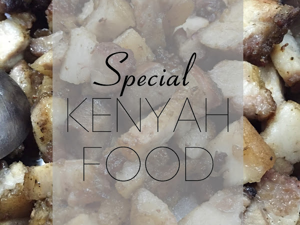 Special Kenyah food for #badengmalaya gathering | My top 5 favorite