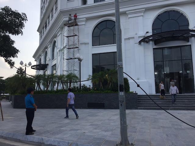 Trung tâm thương mại tại Eco city được chính chủ đầu tư khai thác