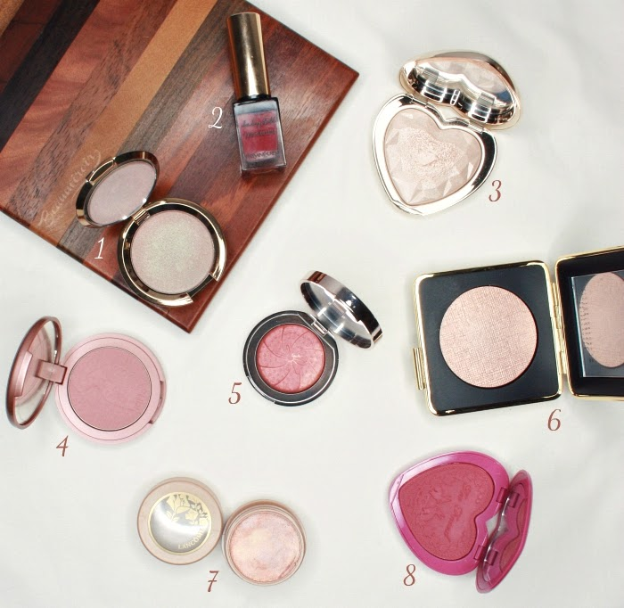 selection cheek autumn becca YSL too faced ciate tarte