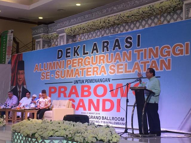 Rizal Ramli: Saya Usul Pak Jokowi jadi Menteri PU, tapi Kalau Mau Pulang ke Solo Kami Antar