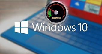 شرح كيفية  التحكم في سرعة الانترنت التي يستخدمها ويندوز10 لتحميل تحديثات  windows update
