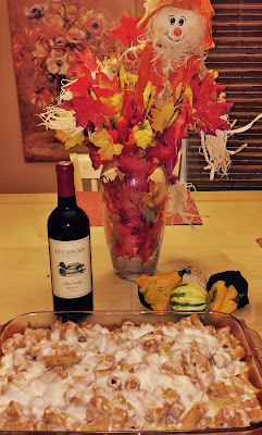 merlot pairings sausage baked rigatoni with duckhorn merlot
