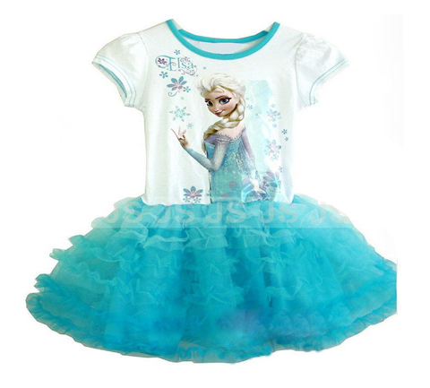 9 Gambar Model Baju Frozen Anak Terbaru 2017