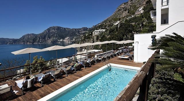 Região beira-mar para ficar em Amalfi