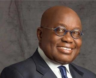 The Ghanaian president, Nana Akufo Addo