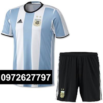 ARGENTINA Trắng sọc xanh