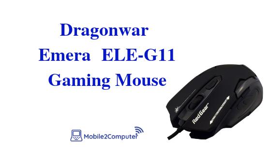 Dragonwar Emera ElE-G11 Budget Gaming Mouse
