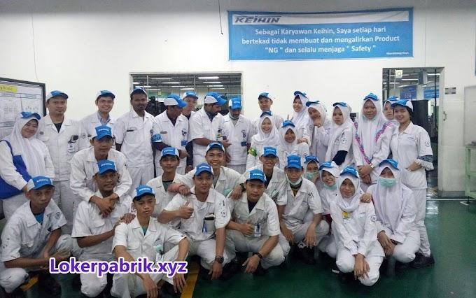 Lowongan Operator Produksi PT. Keihin Indonesia Januari 2018