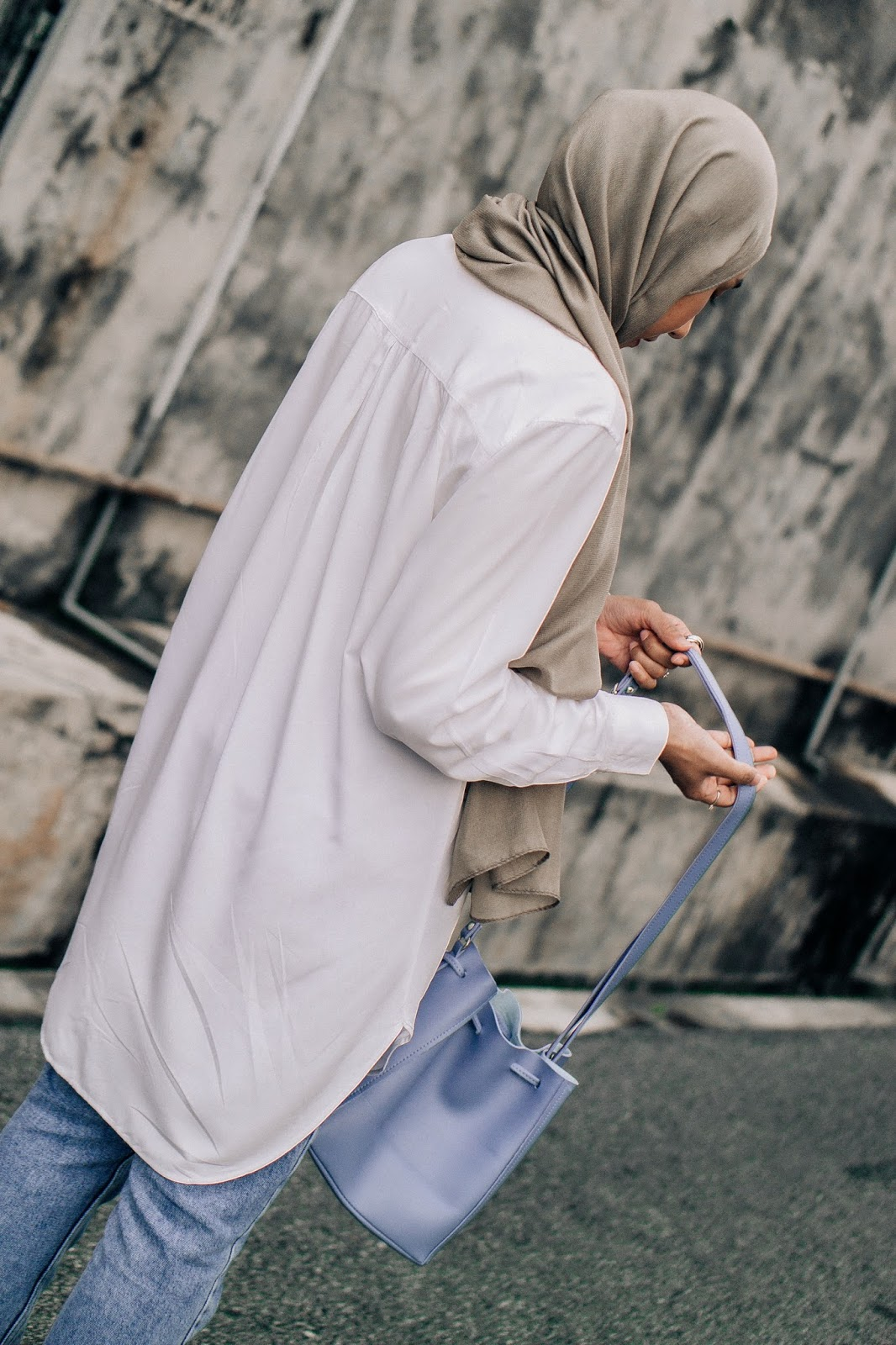 Long Oversized White Shirt