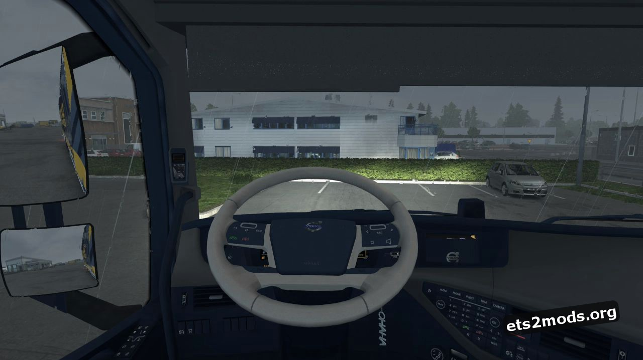 Two New Steering Wheels for Volvo 2013 V 1.0