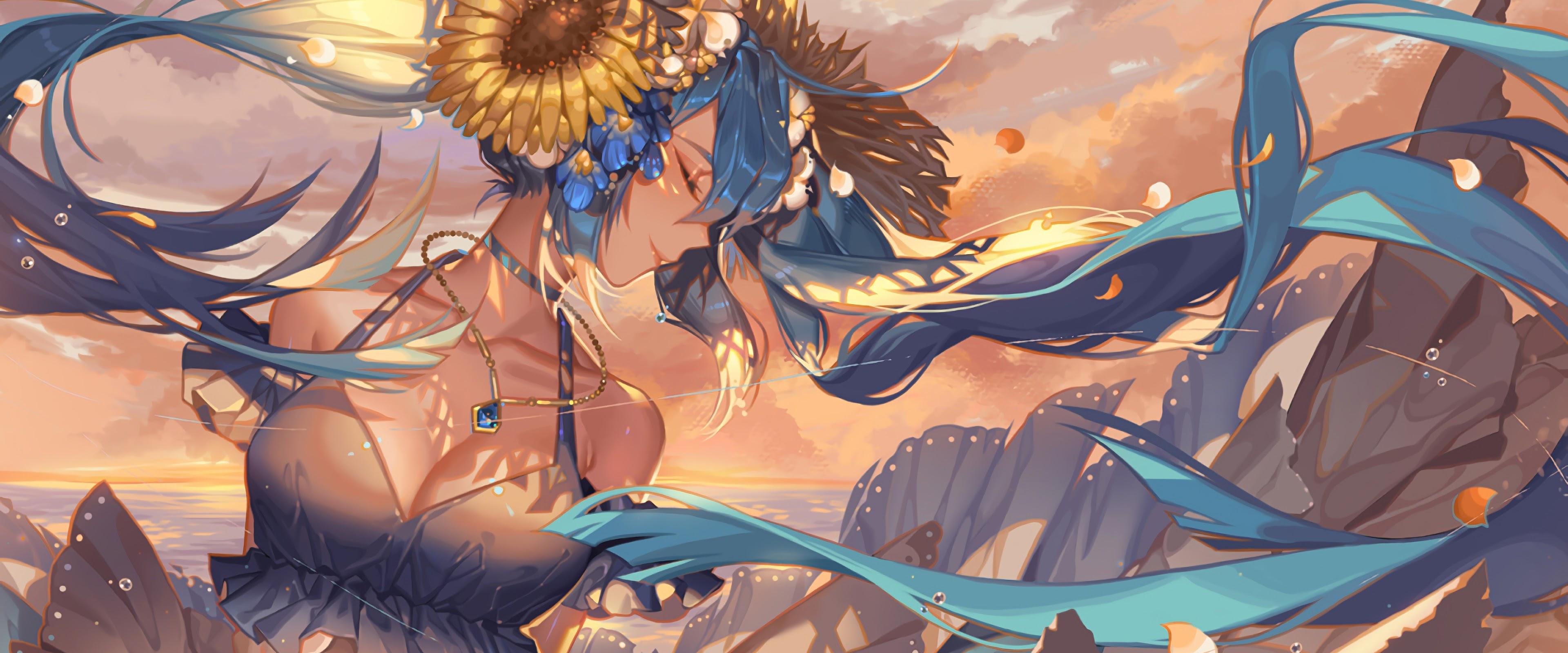 Hatsune Miku, Anime, Girl, 4K, #152 Wallpaper