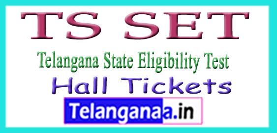 TS SET Hall Tickets 2018 Download