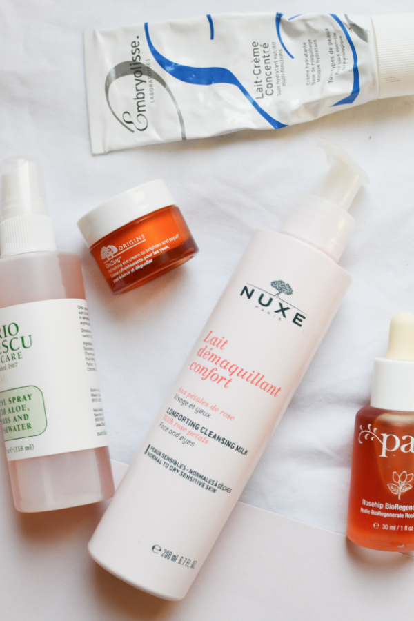 favourite skincare products nuxe embryolisse