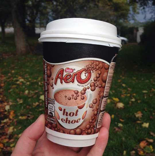 The best hot chocolate in winter