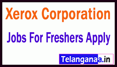 Xerox Corporation Recruitment Jobs For Freshers Apply