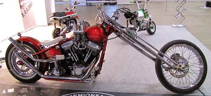 punainen chopper