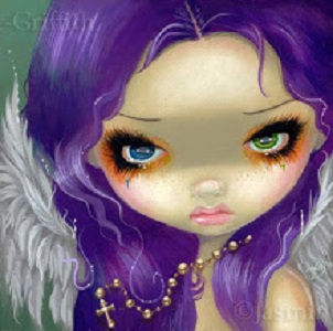 Shree' blog Purple pixie dust cards