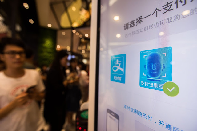 Alipay introduces facial recognition payment system at KFC in China that let you pay with your face