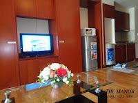 The Manor 2 HCM bán căn hộ block G 36m2 | tivi tại phòng khách