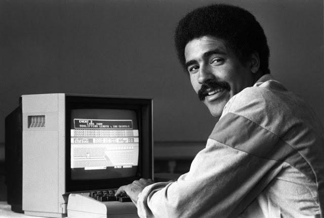 Frikis de los ordenadores en los 80