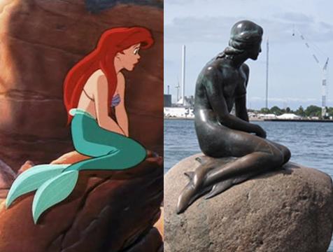 Ariel y La sirenita de Copenhague - Cine de Escritor