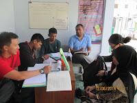 Siswa WTC Belajar Bahasa Inggris