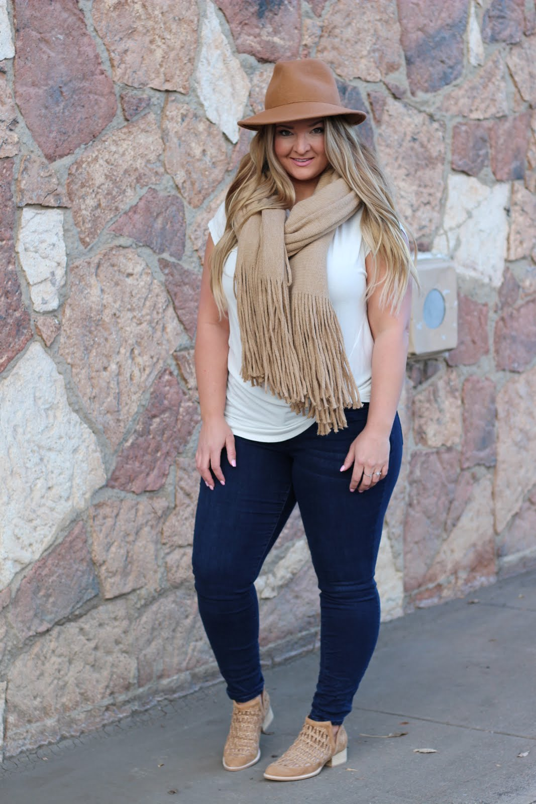 Nude Tones by popular Denver fashion blogger Delayna Denaye