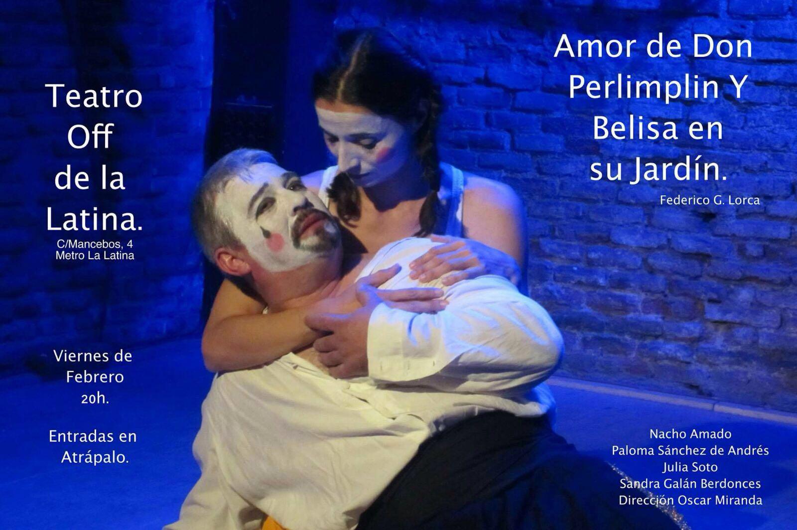Suburbana madrid ruido de tablas teatro amor de don for Amor de don perlimplin con belisa en su jardin