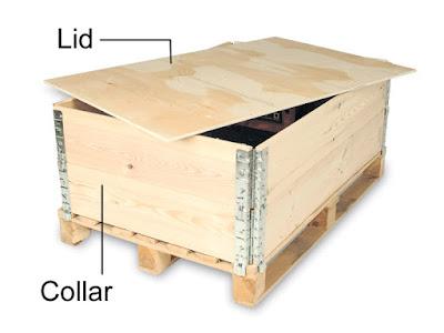 Đóng kiện gỗ kín để đảm bảo hàng hóa không bị bể vỡ