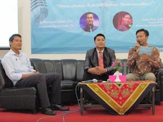 STIE Putra Bangsa adakan Talkshow Public Speaking