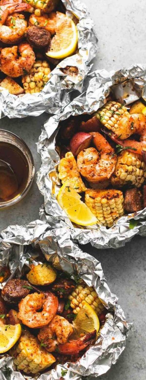 Shrimp Boil Foil Packs - Dinner Recipesz