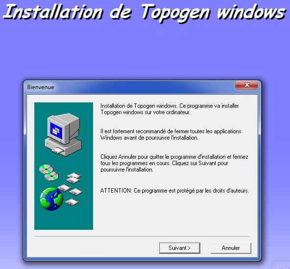 WINDOWS TÉLÉCHARGER GRATUIT TOPOGEN 7