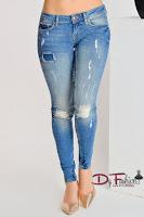 Jeans Blue Tabs