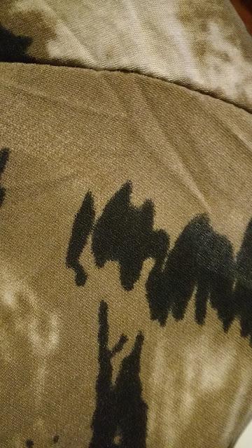 Recebidos Loja Rosegal, blusa tigre, detalhe do tecido