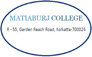 Matiaburj College, R - 55, Garden Reach Road, Kolkatta - 700024, West Bengal
