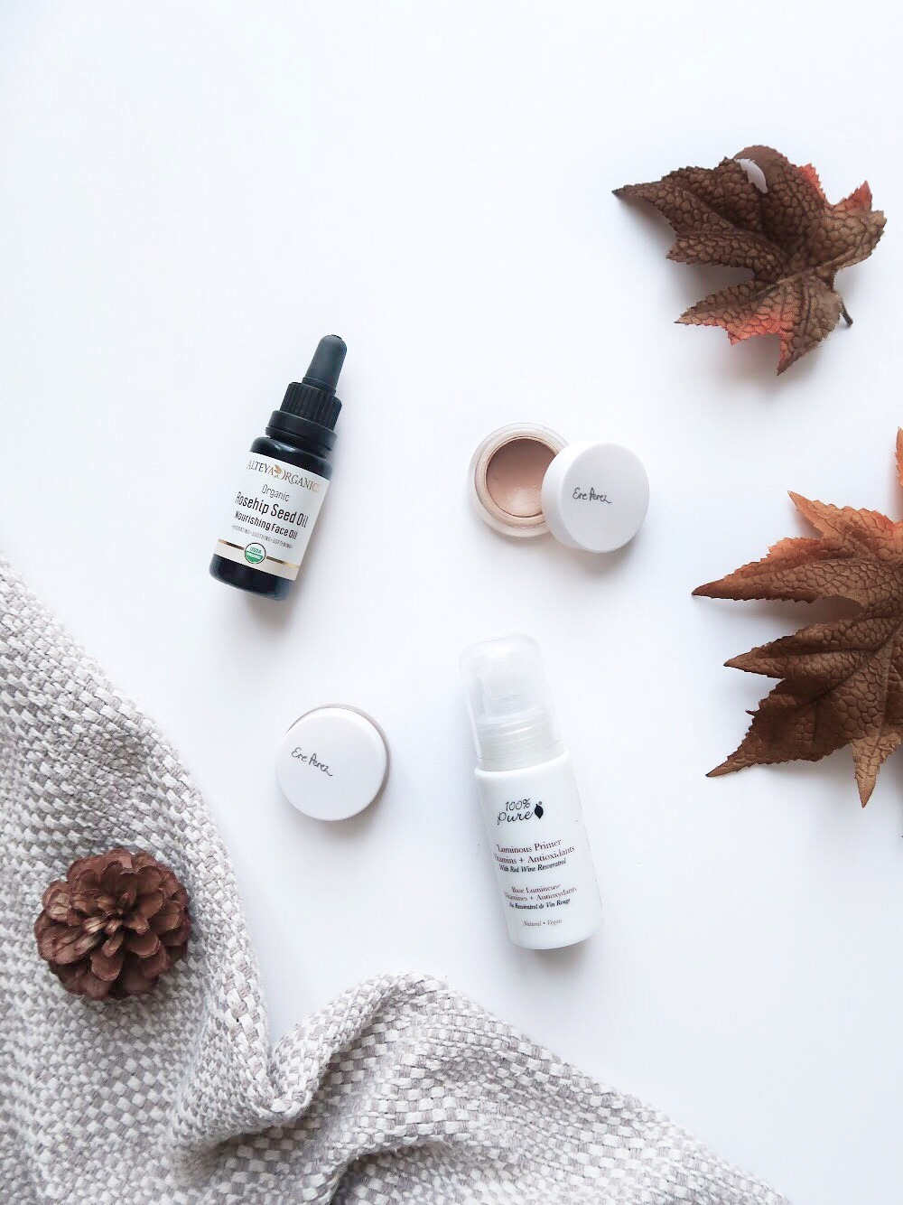 Autumn/Winter base products for natural finish