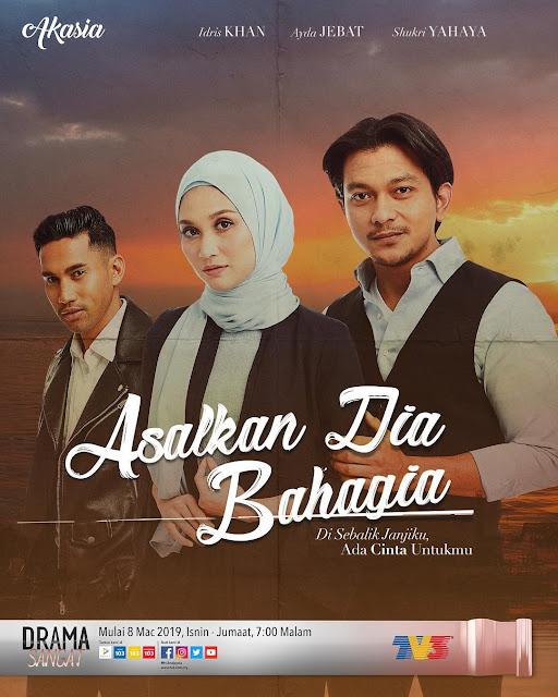 Drama Asalkan Dia Bahagia tv3 episod