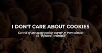 """Nascondere banner """"accetta cookie"""" sui siti web"""