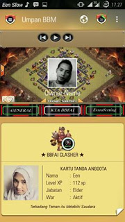 Download Aplikasi BBM MOD BBM CLASH OF CLANS (COC)