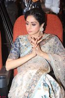 Sri Devi in designer saree stunning beauty at the launch of MOM movie Trailer~  Exclusive 138.JPG