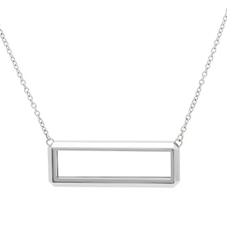 Origami Owl Silver Bar Locket available at StoriedCharms.com