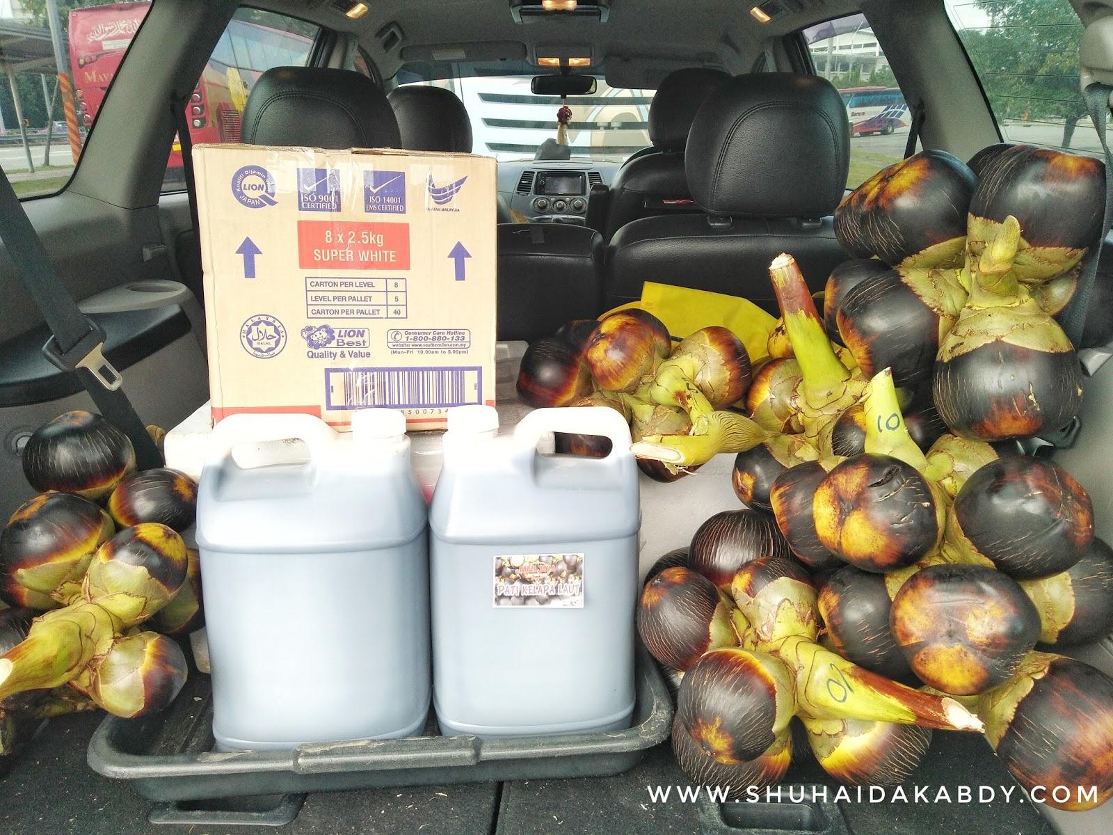 Delivery Kelapa Laut Man Java