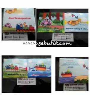 Buku Bantal Anak Alat Transportasi