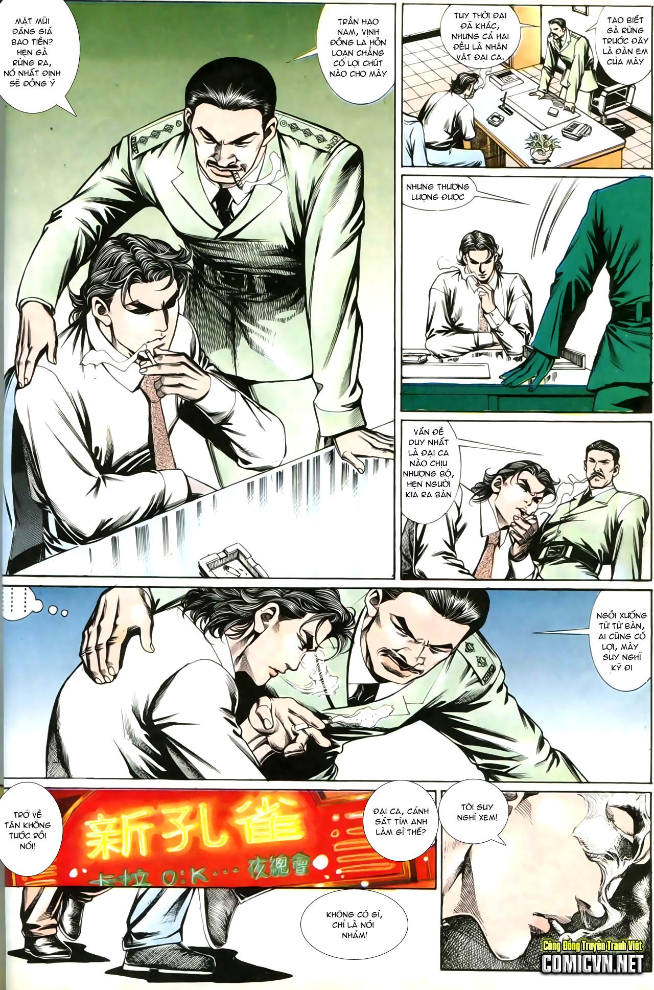 Người Trong Giang Hồ chapter 202: đối đầu trang 12